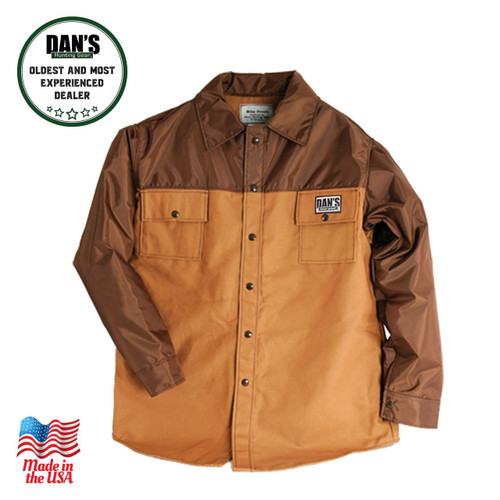 Dan's Hunting Gear - 134 - Briarproof Brown Duck Shirt | Windwalker Outdoors | Montana U.S.A.