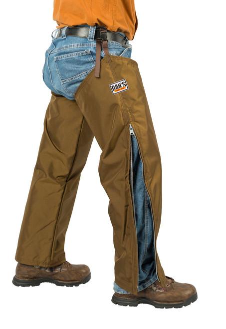 Dan's Hunting Gear - 61-802 - Rugged Wear Five Star chaps| Windwalker Outdoors | Ohio U.S.A. Side