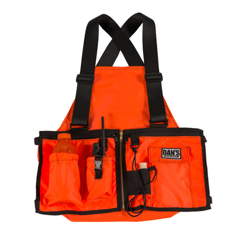 Dans Hunting Gear Ultimate Strap Vest (Orange)