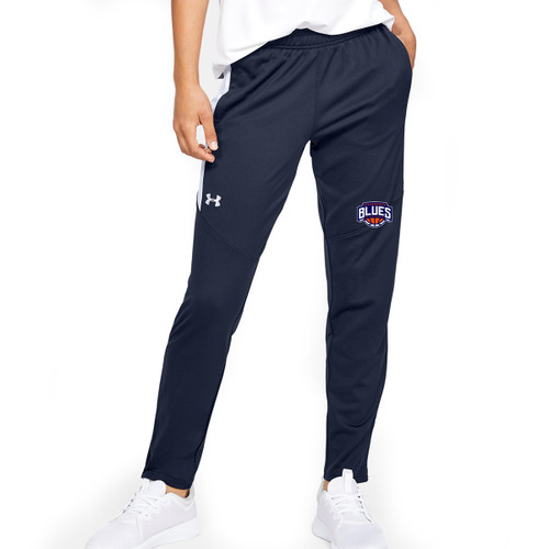 SBA Under Armour Women's Rival Knit Warm-Up Pant - Navy