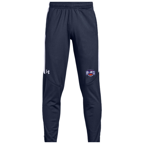 SBA Under Armour Youth Rival Knit Warm-Up Pant - Navy