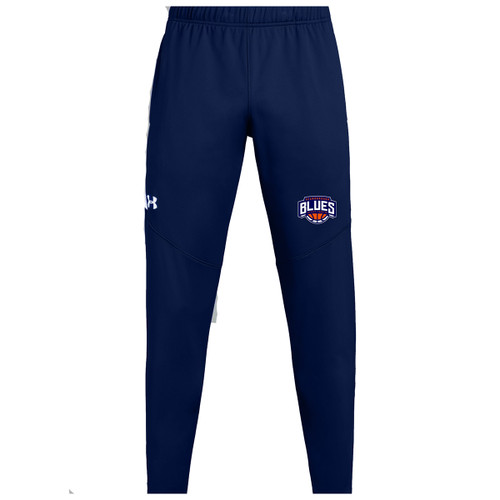 SBA Under Armour Men's Rival Knit Warm-Up Pant - Navy