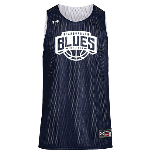 SBAB Under Armour Youth Triple Double Jersey - Navy/White