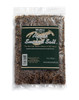 Apple Smoked Maine Sea Salt, 8 oz re-closable plastic bag. Smoked over a Apple fire for a clean smoky taste. Use Smoked Apple Salt to make rubs, or to add a smoked flavor to any meal, particularly good with white meats, fish, and vegetables.