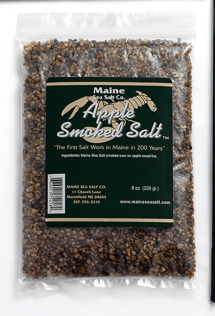 Apple Smoked Maine Sea Salt ( 8 0z ) Do You Like Smoke Flavor?