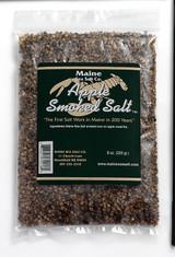 8 oz Bag, Apple Smoked Maine Sea Salt. Do You Like Smoke Flavor?  .83 WT
