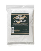 Natural Sea Salt  1 lb, Coarse Salt. Hand Harvested. Zipper Bag. 1.25 WT. Certified Kosher