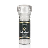 Natural Maine Sea Salt  3.6 oz Grinder (six to a case)