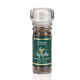 Apple Smoked Maine Sea Salt 3.6 oz Grinder, Case Of Six.  3.41 WT