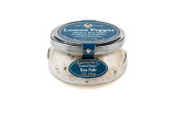 Lemon  and Pepper, Maine Sea Salt  with a dash of cracked Peppercorns. (5.5 oz Gift Jar)
