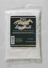 Natural Maine Sea Salt 1 lb bag FINE SIZE