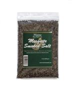 8 oz Bag, Mesquite Smoked Maine Sea Salt,  Great, Smoked Mesquite. .830 WT