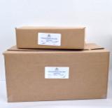 240 lb Box, Natural Maine Sea Salt,  (Crystal).  250. WT  Certified Kosher