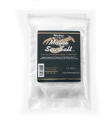 Natural Maine Sea Salt 8 oz bag CRYSTAL SIZE.  .83 WT  Certified Kosher