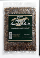 Apple Smoked Maine Sea Salt, 8 oz bag. (Case of Six)