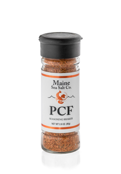 PCF Shaker 2.8 oz The Perfect Seasoning For All Your Proteins, Carbs And Fats.  [SIX TO A CASE].  2.94 WT