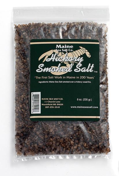 Hickory Smoked Maine Sea Salt, (case of Six)