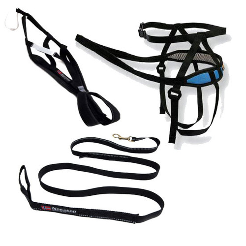 Canicross Starter Kit with Non-Stop X-Back Harness