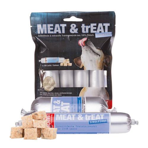MeatLove Meat & Treat 100% Salmon Pockets