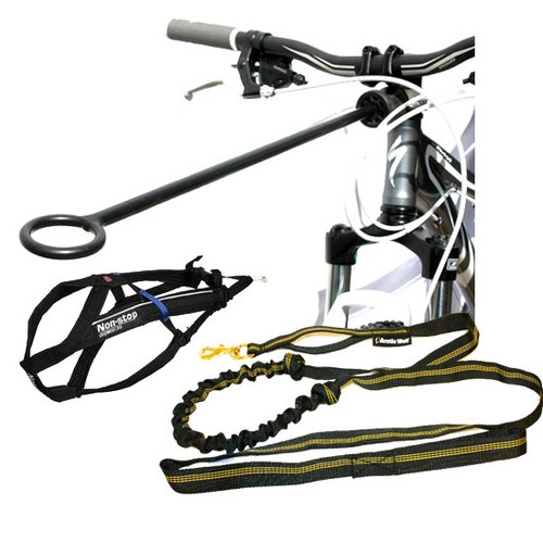 Bikejor Starter Kit with Non-Stop Free Motion Harness