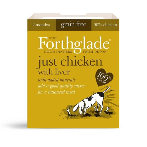 Forthglade Just Chicken with Liver Grain Free 395g