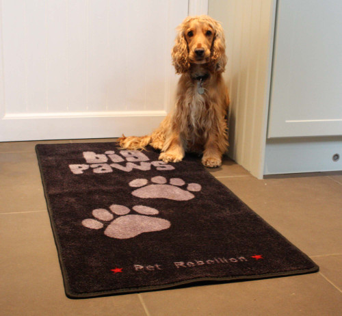 Big Paws Door Mat