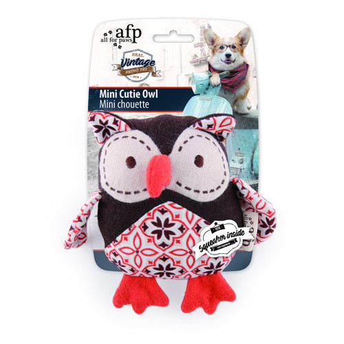 All For Paws Vintage Dog Mini Cutie Owl