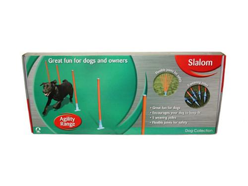 Dog Agility Slalom Weave Poles