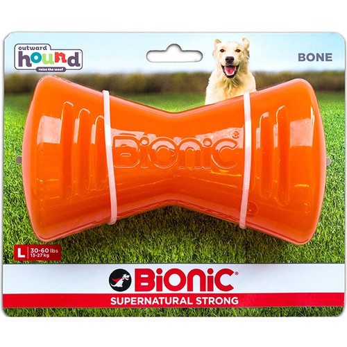 Bionic Rubber Bone Large (For Dogs 13-27 Kgs)