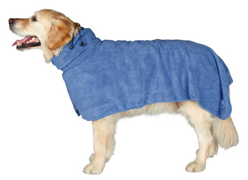 Dog Microfibre Towel Bathrobe