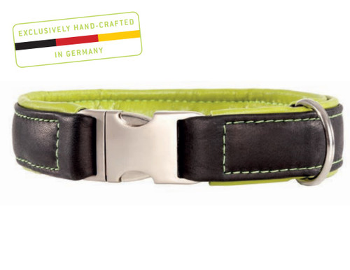 Maelson Soft Coll'r - Luxury Leather Dog Collar