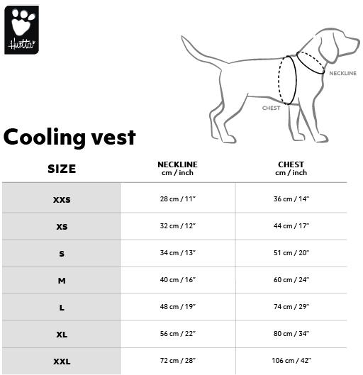 Hurtta Cooling Vest Size