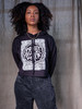 Protect Black Women Crop Hoodie