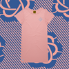 Tru Knowledge Pink Womens T-Shirt Dress