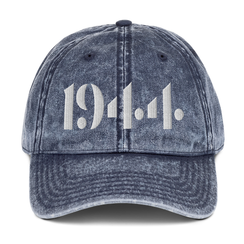 1944 Vintage Denim Dad Hat