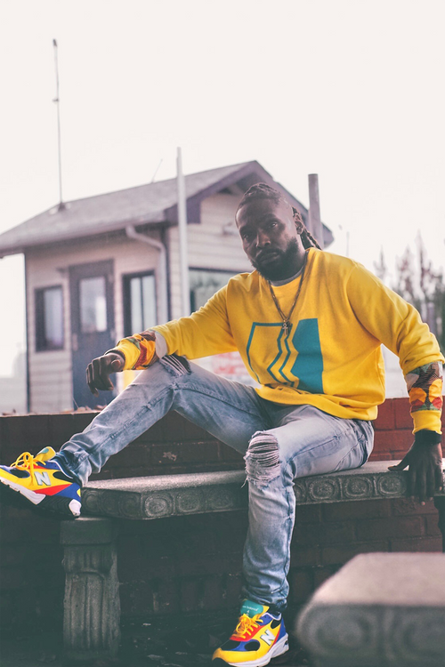 Pollute Tru Knowledge Yellow Crewneck
