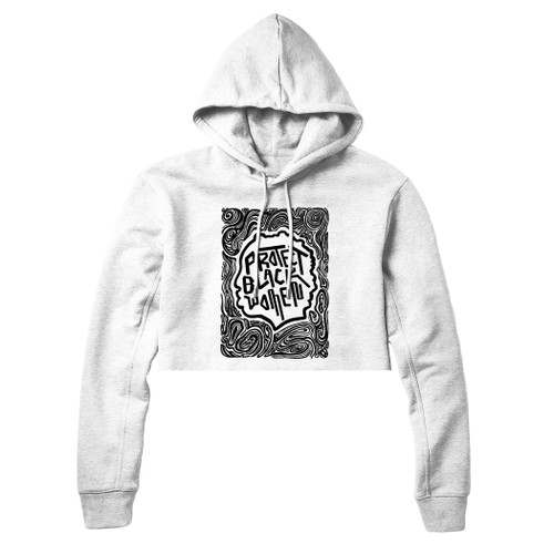 Protect Black Women White Hoodie