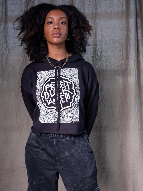 Protect Black Women Black Hoodie