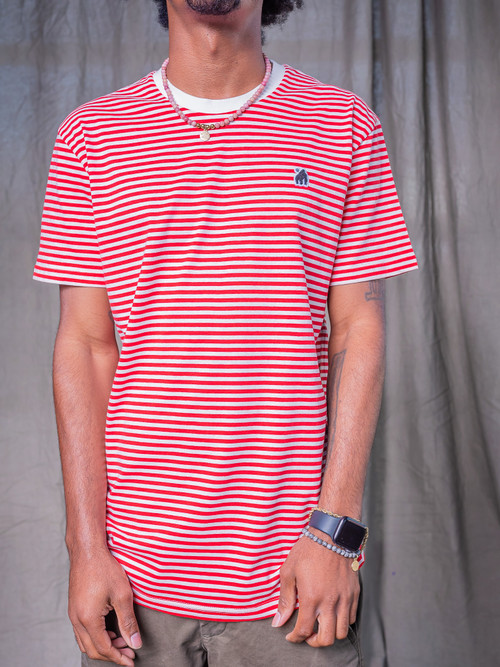 Red Stripe Gorillo Tee