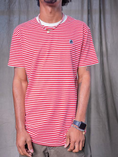 Red Stripe Gorillo Tee