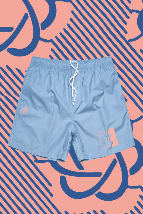 Tru Knowledge  Beach Shorts