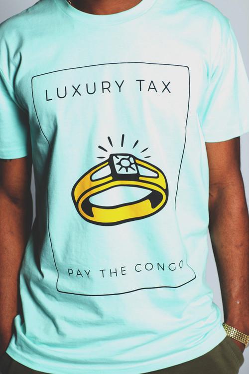 Luxury Tax Teal Tee