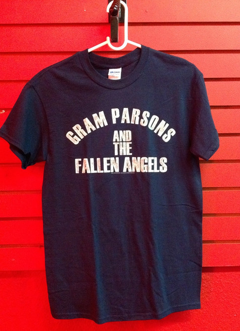 Gram Parsons and the Fallen Angels T-Shirt in Dark Blue