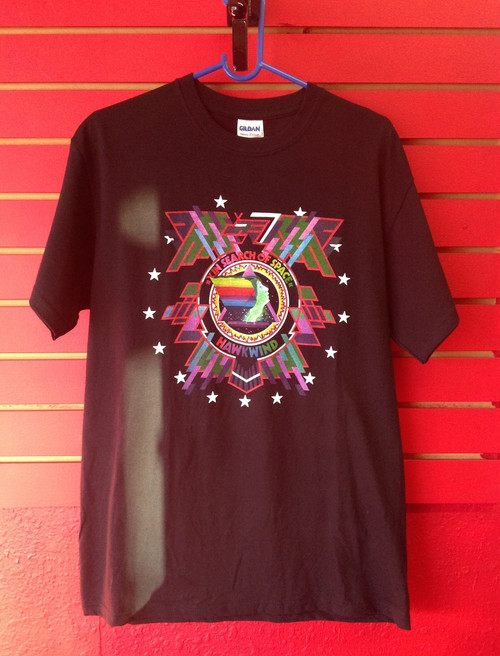 Hawkwind In Search Of Space T-Shirt in Black