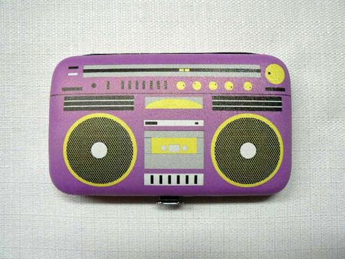 Pop Nail Kit - Retro Purple Boom Box