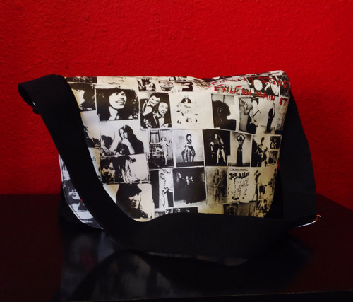 Rolling Stones Exile on Main Street Messenger Bag