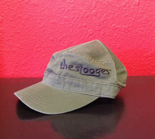 Stooges - The Weirdness - Army Green Cap