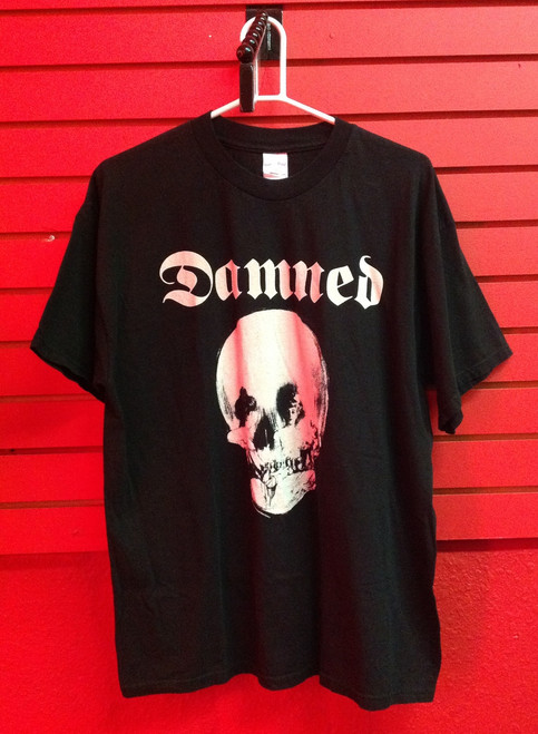 The Damned Stretcher Case Baby Single - Skull Lady Print - Recent Vintage T-Shirt in Size Extra Large