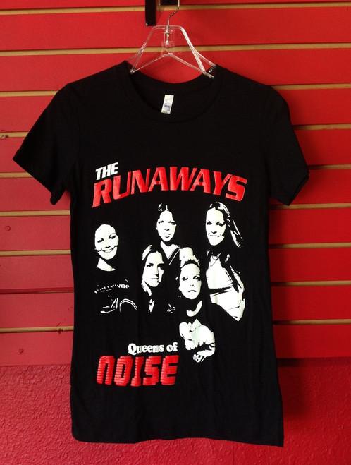 The Runaways - Queens of Noise Girls / Slim Cut T-Shirt