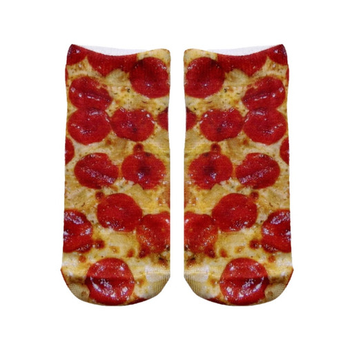 Living Royal Pizza Ankle Socks